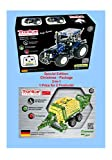 Metal Construction Model Kit RC Tractor Set with Trailer New Holland T8 + function tools and picture instructions Radio Controlled mechanical building set farm collectable 12+ STEM Tronico