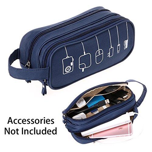 Gadget Tasche (btsky Universal Travel Wasserdichtes Tragbare digitale Aufbewahrungstasche Elektronik Zubehör Gadget Kabel Organizer Storage Taschen Carry Fällen Pouch)