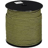 15/m x 6/mm Bulk Hardware Polypropylen-Seil geflochten auf Handspule
