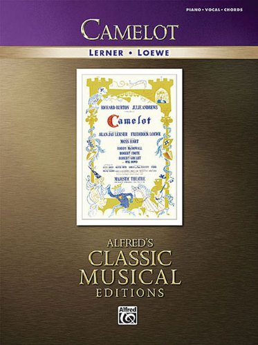 camelot-vocal-selections-alfreds-classic-musical-editions