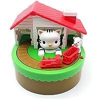 Preisvergleich für MOONPOP Elektronische Spardose Gelddose Münzen Euro Diebstahl Sparbüchse - Katze und Mause mit Musik