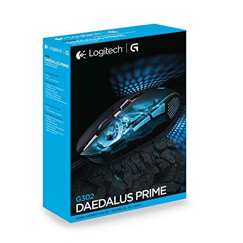 Logitech G302 Daedalus Prime MOBA Gaming Maus schwarz - 7