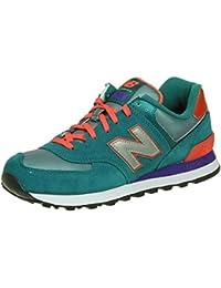 Calzado deportivo para mujer, color Verde , marca NEW BALANCE, modelo Calzado Deportivo Para Mujer NEW BALANCE WL574 Verde