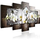 DSADDSD Magnolia Dekoration Malerei, Bild und Drucken Wohnzimmer Moderne Dekorative Malerei, Foto - 5 Stück - Kein Rahmen, 100 * 50 Dekorative Malerei (Größe : 150cm*75cm)