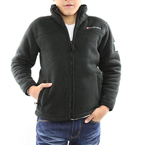 UPAXKORANA-BK - Full Zip Kinder Fleece Jacket - Anapurna - Upax Kor Ana - nero - Nero, 110