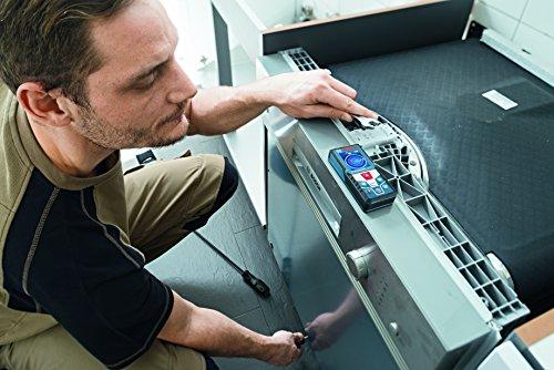 Bosch Professional GLM 50 C Laser-Entfernungsmesser (Messbereich 0,05-50 m, Bluetooth Schnittstelle für Apps (iOS, Android), drehbares Farb-Display, Schutztasche, IP54 Staub- und Spritzwasser-Schutz) 0601072C00 - 6