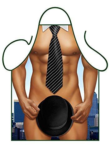 Iconic Aprons–Delantal para hombre de negocios, poliéster, multicolor, 79x 56x 0,1cm