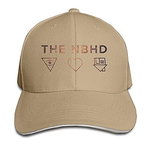 Nana Adult The NBHD Band Logo Adjustable Baseball Hat Natural
