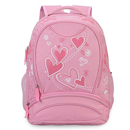 Imagen de veevan  con dulce corazón para niños escolares rosa