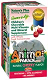 Nature's Plus Animal Parade Children's Chewable Multi-Vitamin and Mineral Cherry - 180 Chewables
