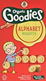 Organix Goodies Organic Alphabet Biscuits Bags (Pack of 3, Total 15)