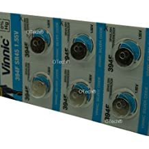 Pack of 10 Vinnic Batteries For Swatch Irony Retrograde