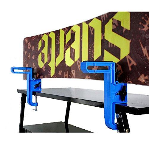 Sci e snowbard xcman interamente in metallo multifunzione per tuning e ceretta angolo regolabile durevole e stabile