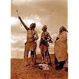"""El Juramento"" Edward S. Curtis Native American Indian Art fotografía"