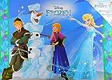 Lizenzartikel Frozen XXL Malblock & 1 Sticker Bogen 42 cm Malbuch 16 Motive Deko GAC C53
