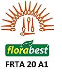 20 Ersatzmesser / Messer / Schneidplättchen / Kunststoffmesser für Ihren Florabest FRTA 20 A1 Akku Rasentrimmer IAN 282232