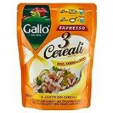Riso Gallo 3 Cereali Riso, Farro e Orzo Expresso - 250 gr - [confezione da 6]