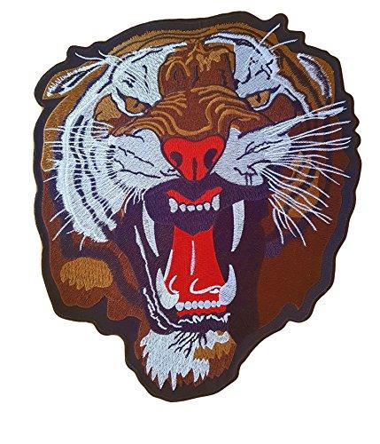 Parche Tigre Animal - 31 cm X 26.5 cm - XL Tamaño