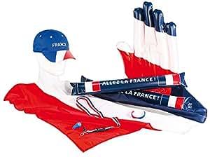 Set du supporter France ''Allez Les bleus''