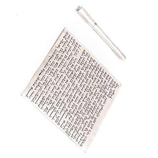 Koscher Hand Geschriebenen 12 cm, Judaica Israel, Jüdisches Mezuzah Scroll Keeper
