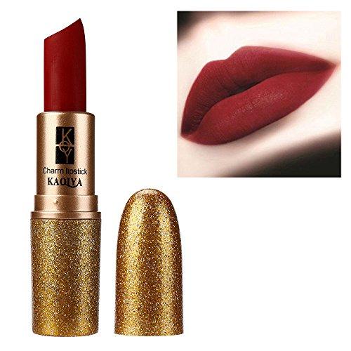 Rouge à lèvres,Imperméable mat Stick lèvres lisses Longue durée cosmétique Lonshell (01#)