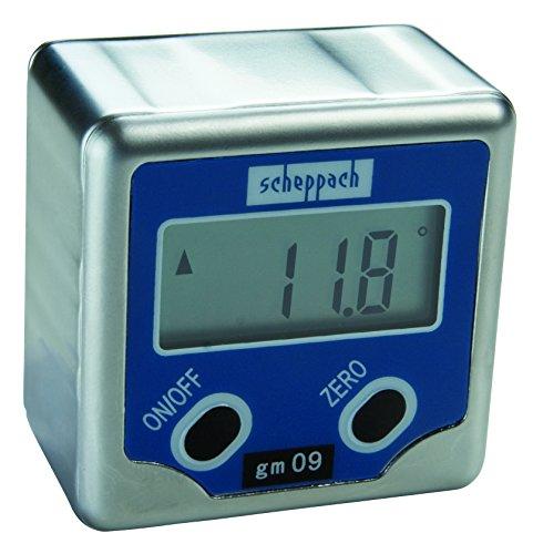 Scheppach gm09 Winkelmessgerät mit LCD Display