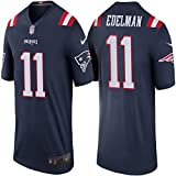 11 Julian Edelman Trikot New England Patriots Jersey American Football Shirt Mens Color Rush Legend