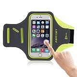 Fascia Sportiva da Braccio Sweatproof Bracciale per Corsa & Esercizi con Supporto Chiave e Riflettente Armband per iPhone 7 Plus /6 Plus / 6s Plus / 6 / 6s / 5s / 5c / 5 , Samsung , HTC , Xiaomi , Huawei ecc