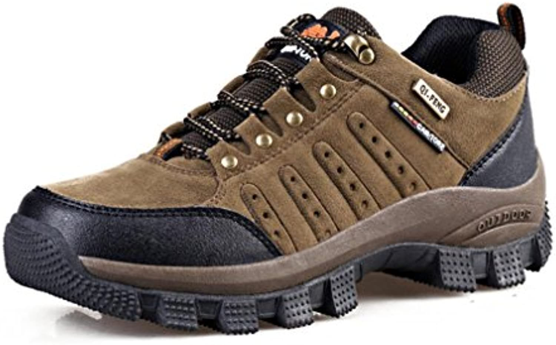 YaXuan Zapatillas de Senderismo para Hombres, Zapatillas de Senderismo Ligeras para Caminar, Botas de Escalada  -