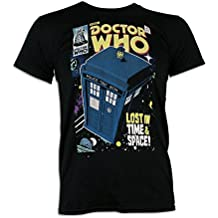 Doctor Who- Camiseta para hombre Dr Who Tardis