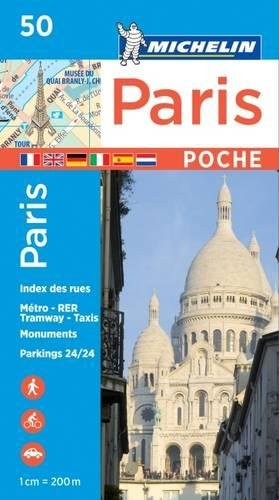 Plano Paris Plan Poche (Michelin City Plans)