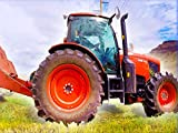 Red Tractor for Kids
