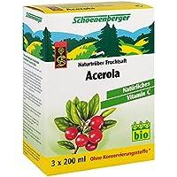 Acerola Saft Schoenenberger Heilpflanzensäfte 3X200 ml preisvergleich bei billige-tabletten.eu