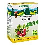 Acerola Saft Schoenenberger Heilpflanzensäfte 3X200 ml