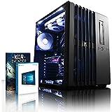VIBOX Aries 18 - Ordenador de sobremesa (Intel Core i7-4790K, 32 GB de RAM,  Disco hibrido de 3 TB + disco solido de 240 GB , NVIDIA GeForce GTX 980 Ti de 6 GB, Windows 10) negro - Paquete con Juego War Thunder