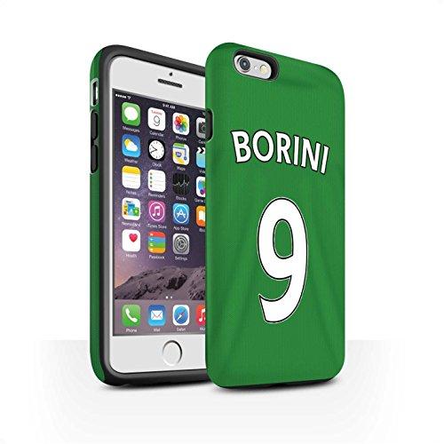 Officiel Sunderland AFC Coque / Matte Robuste Antichoc Etui pour Apple iPhone 6S / Pack 24pcs Design / SAFC Maillot Extérieur 15/16 Collection Borini