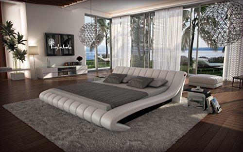 Wasserbett FERRARA von Sofa-Dreams 180 x 200 cm in weiß, mit Dual-Kern