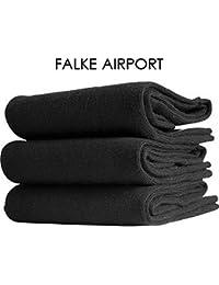 FALKE airport chaussettes nOIR-achat en vrac :  de 9 paires