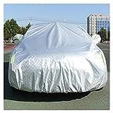 Fundas para coche Cubierta de automóvil de Invierno, anticongelante, frío, Nieve, anticongelante, Cubierta de automóvil Engrosada para áreas frías, tamaño Personalizable (Color : Silver)