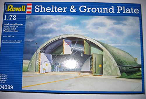 REVELL® 04389 1:72 SHELTER&GROUND PLATE LIMITED EDITION