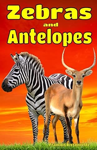 Zebras and Antelopes: Facts, information and beautiful pictures about Zebras and Antelopes: Volume 5 (Animal Books for Children)