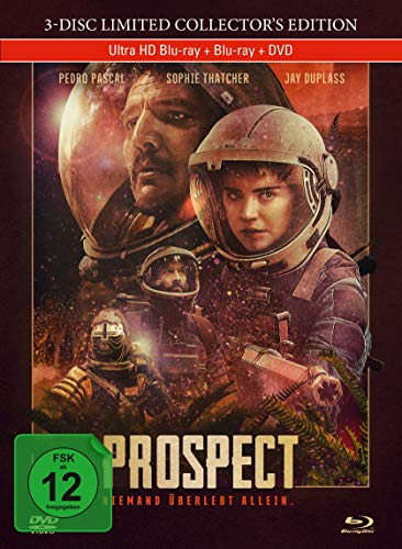 Prospect - 3-Disc Limited Collector's Edition im Mediabook (4K Ultra HD) (+ Blu-ray) (+ DVD)