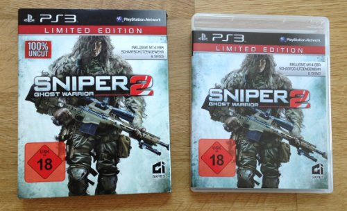 Sniper 2 Ghost Warrior Limited Edition 100% Uncut (Sniper Warrior Ps3 Ghost 2)
