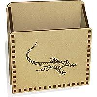 Azeeda 'Iguana' Wooden Letter Holder/Box (LH00033930)