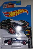 NEW 2016 Hot Wheels CORVETTE STINGRAY (Black) 3/10 Mild to Wild 58/250 H Case RARE