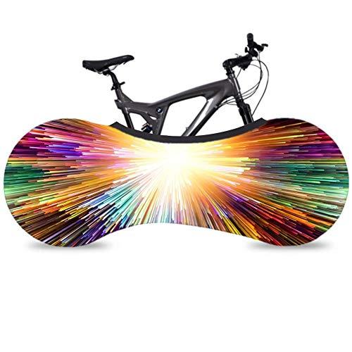 Enjoyyouselves Fahrradabdeckung Federn hält Böden und Wände schmutzfrei Ideal für Mountainbike-Staubschutz -