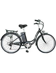 Helliot Bikes Shimano Vélo Électrique Mixte Adulte, Noir