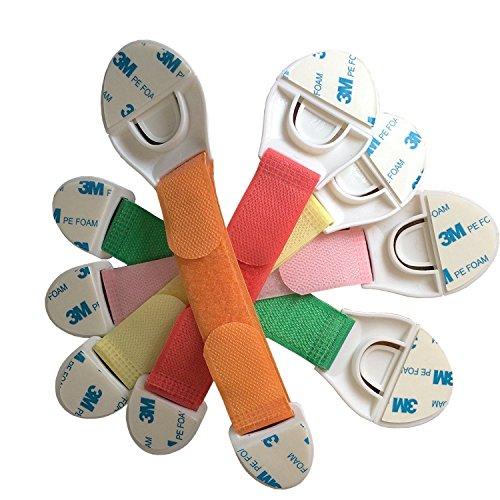5 x Kind Infant Baby Sicherheit Appliance Kühlschrank Schublade Schrank Schrank Tür Schubladen verlängert Sicherheit Schloss-Verriegelung