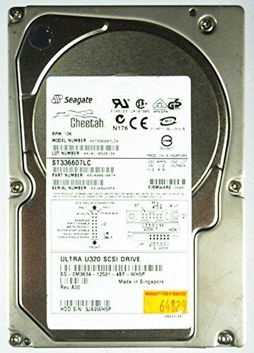 36GB HDD Cheetah ST336607LC SCSI-SCA U320 10K.6 ID9724 -
