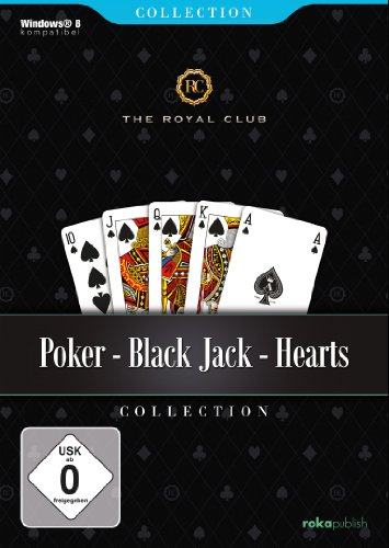 Poker, Black Jack, Hearts - The Royal Club